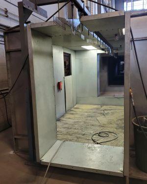 tunnel peinture